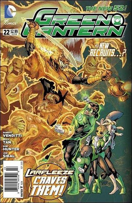 Green Lantern #22 [2013] VF/NM  *The New 52*