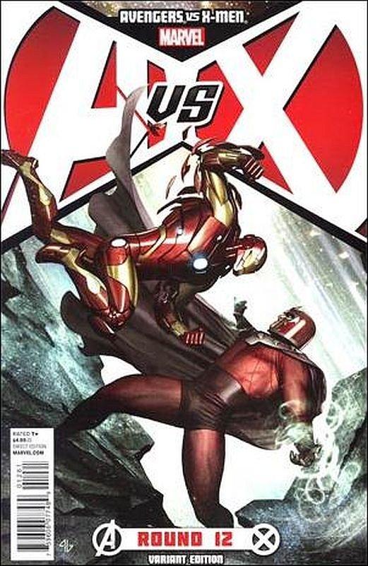 Avengers Vs. X-men  #12 VF/NM *Granov 1 in 25 variant*