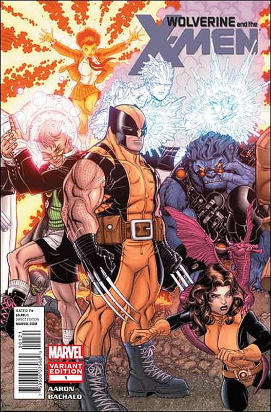 Wolverine And the X-Men #1 Variant (2011) VF/NM