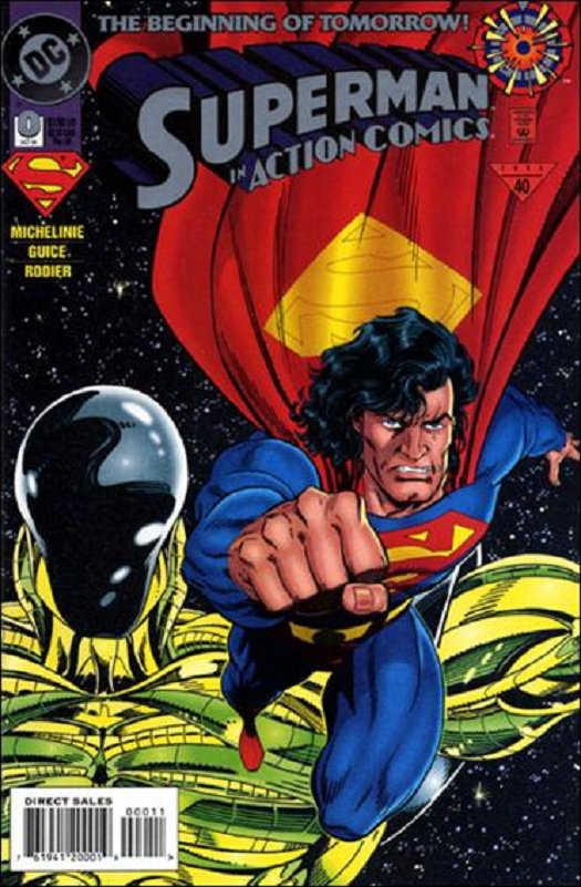 Action Comics (Vol 1) #0 [1994] VF/NM