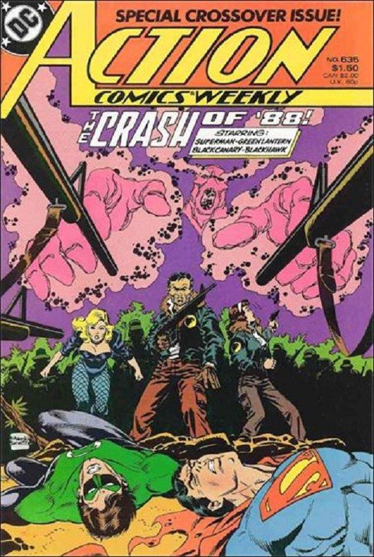 Action Comics (Vol 1) #635 [1989] VF/NM