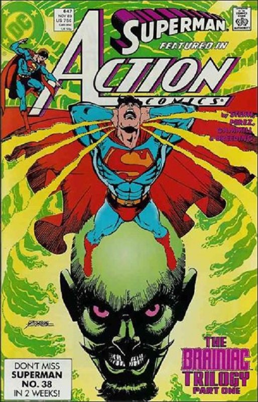 Action Comics (Vol 1) #647 [1989] VF/NM