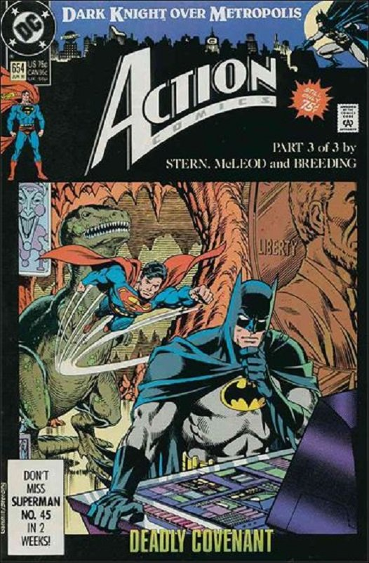 Action Comics (Vol 1) #654 [1990] VF/NM