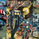 Punisher Captain America Blood and Glory (Vol 1) #1 2 3 [1992] VF/NM *Complete Set*