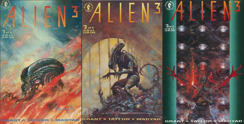 Alien 3 (Vol 1) #1 2 3 [1992] VF or Better *Complete Set*