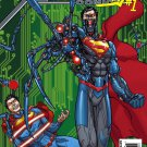 Action Comics (Vol 2) #23.1 [2013] VF/NM Cyborg Superman #1 *3D Lenticular Motion Cover*
