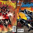 Teen Titans #23.1 23.2 [2013] VF/NM Villain Covers Set *3D Lenticular Motion Cover*