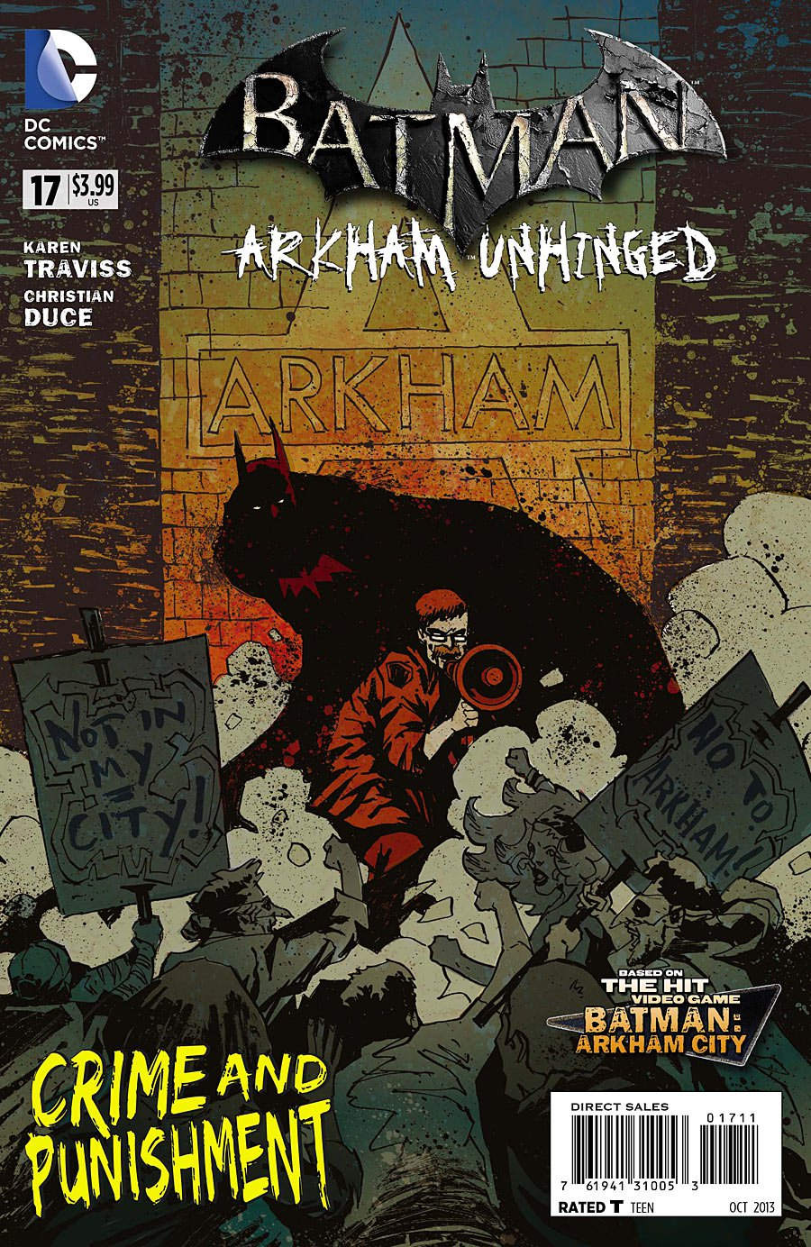 Batman Arkham Unhinged 17 [2013] VF/NM