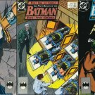 Batman (Vol 1) 433 434 435 [1989] The Many Deaths of Batman Set