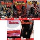 Savage Wolverine 6 7 8 9 10 [2013] VF/NM *Marvel Now Trade Set*