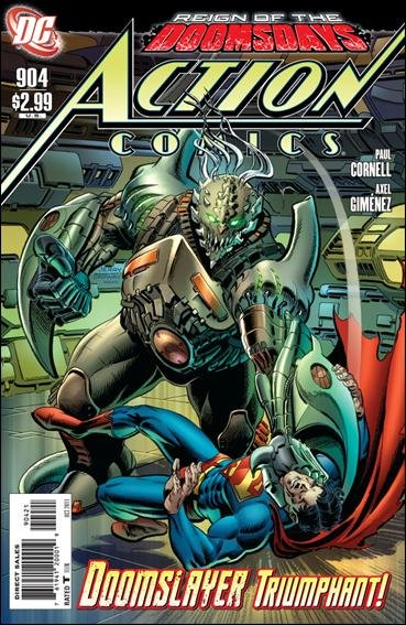 Action Comics #904 VF/NM (2011)Ordway variant