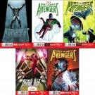 Uncanny Avengers (Vol 1) #11 12 13 14 15 [2013] VF/NM *Marvel Now Trade Set*