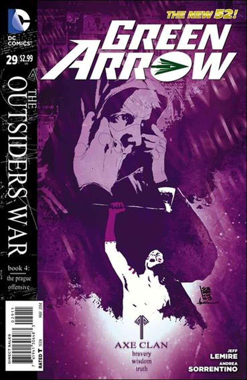 Green Arrow #29 [2014] *The New 52*