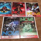 Nova (Vol 5) trade-set #1, 2, 3, 4, 5 [2013] *Marvel Now!*
