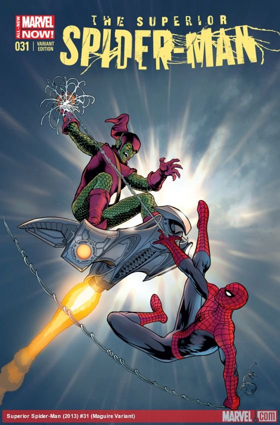 Superior Spider-Man 31 [2014] VF/NM  Series Finale! Kevin Maguire variant