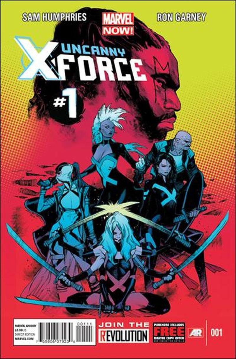 Uncanny X-force #1 [2013] * Incentive Copy *