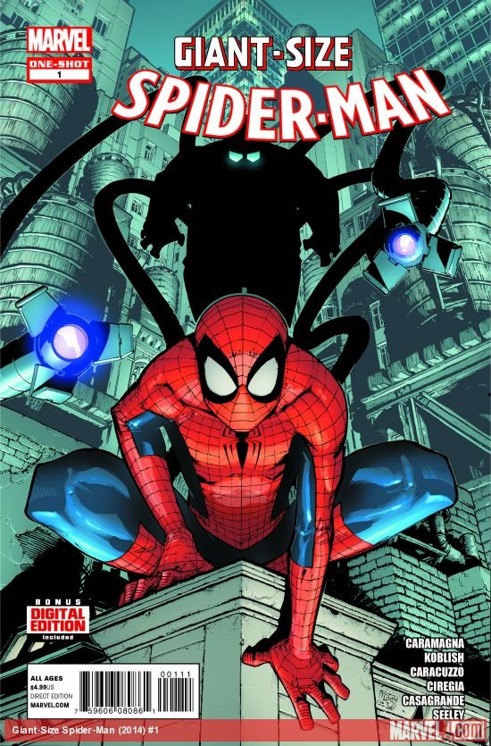 Spider-man Giant-Size #1 2014 VF/NM *Marvel Now!*