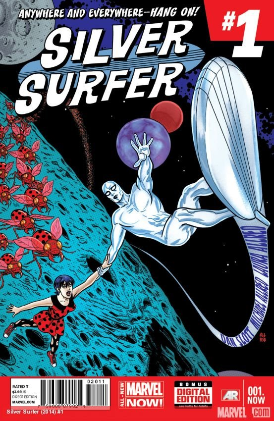 Silver Surfer #1 [2014] VF/NM *Marvel Now*