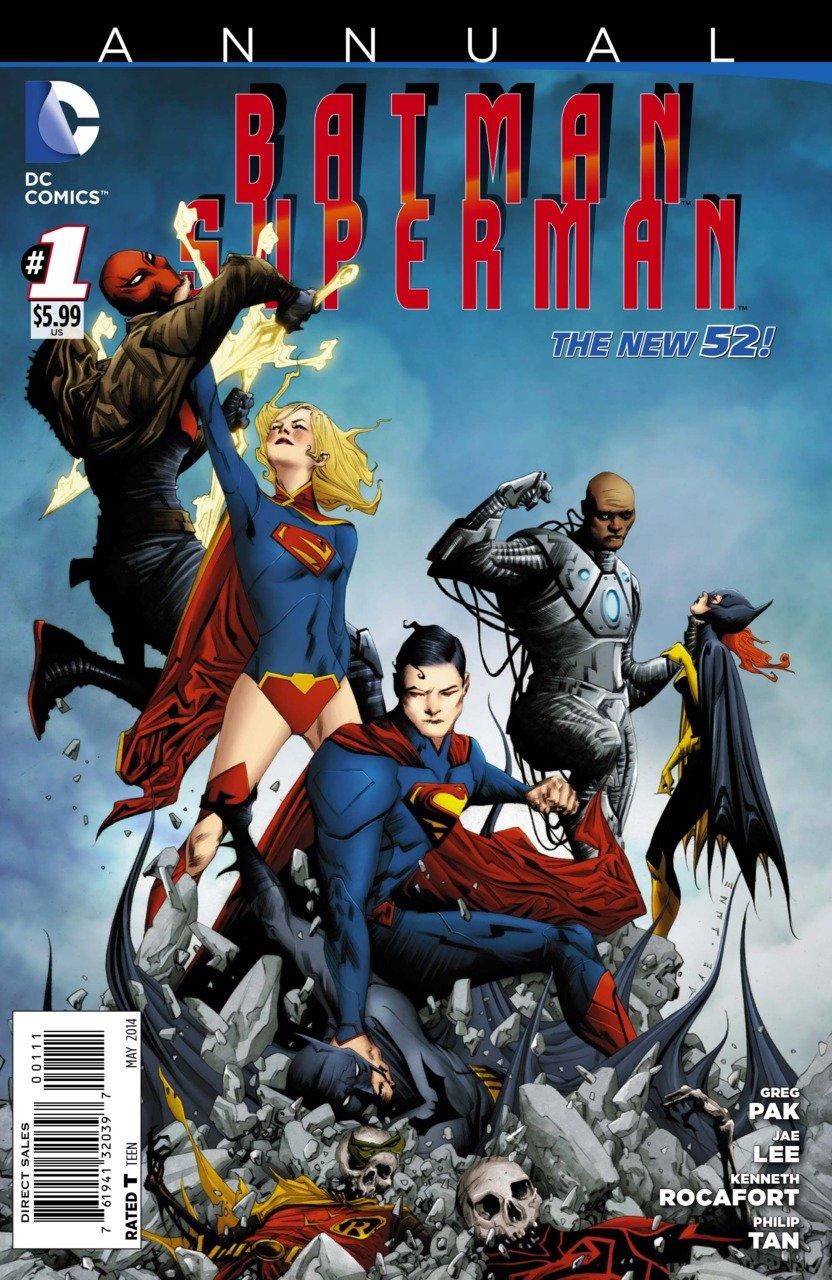 Batman Superman Annual #1 [2014] VF/NM *The New 52*