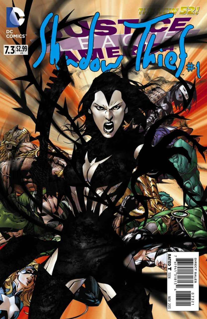 Justice League of America #7.3 Shadow Thief #1 (2d Cover) (2014)  *Incentive Copy*