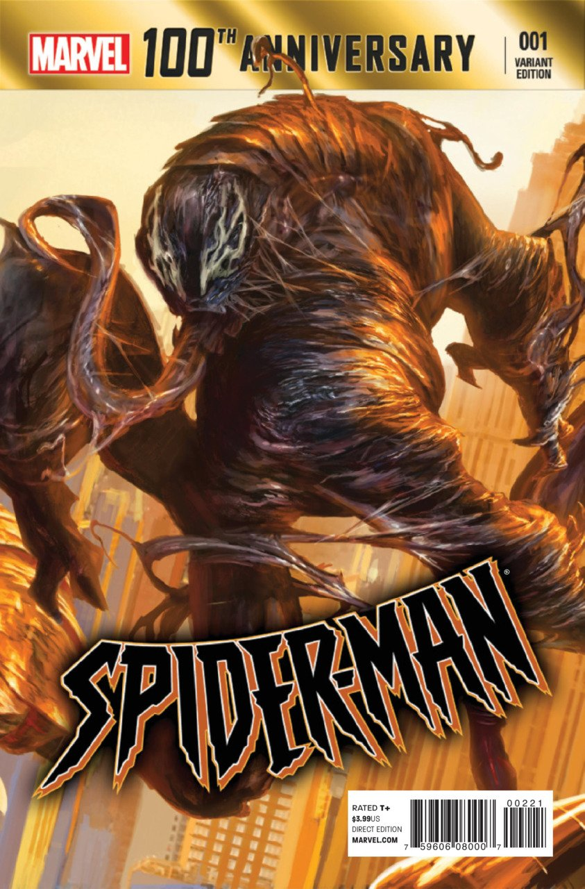 100th Anniversary Special Spider-man #1 B cover (2014) VF/NM