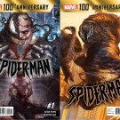 100th Anniversary Special Spider-man #1 A and B covers (2014) VF/NM *A and B Set*