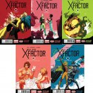 All New X-Factor #6 7 8 9 10 2014 Marvel Now *trade set*