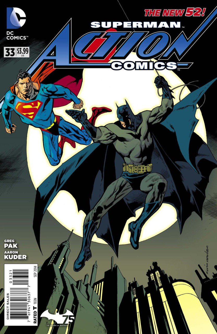 Action Comics (Vol 2) #33 Batman 75th Anniversary Variant [2013] VF/NM *The New 52*