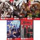 X-Force #1 2 3 4 5 2014 Marvel Now *Trade set*