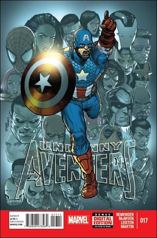 Uncanny Avengers #17 [2013]  VF/NM  *Incentive Copy*