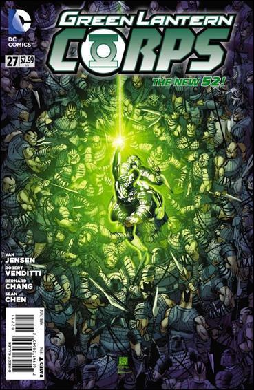 Green Lantern Corps #27 [2013] VF/NM  *The New 52!*
