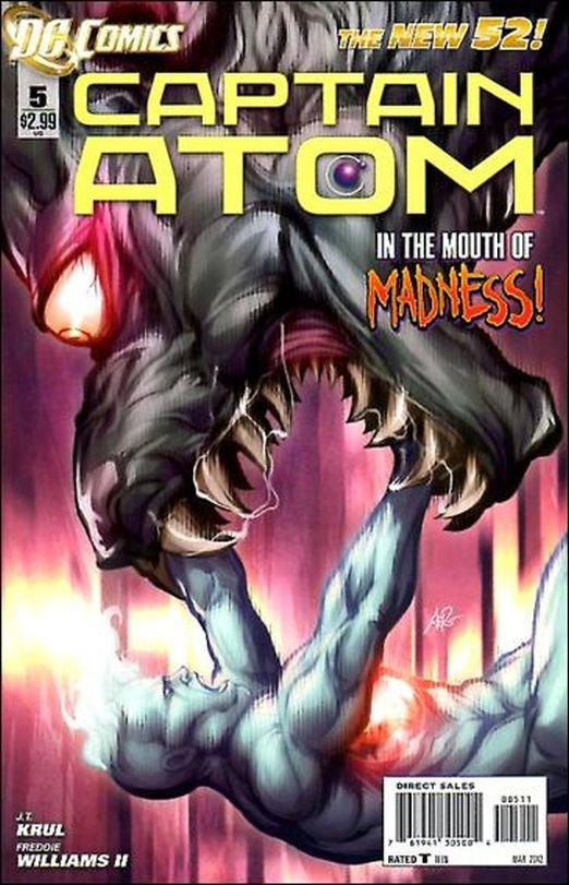 Captain Atom #5  (2011) The New 52!