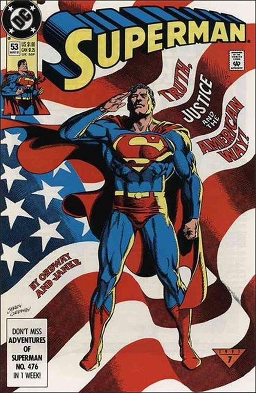 Superman #53 [1991] *Incentive Copy*