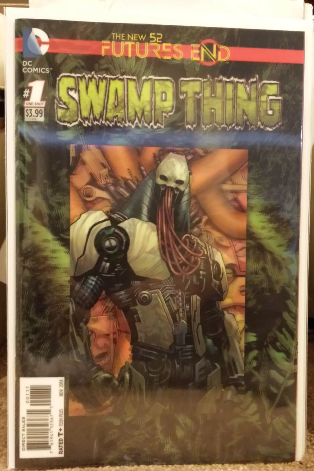 Swamp Thing Futures End #1 [2014] VF/NM *3D Cover*