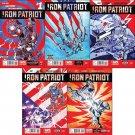 Iron Patriot #1, 2, 3, 4, 5 (2014) VF/NM *Trade Set*