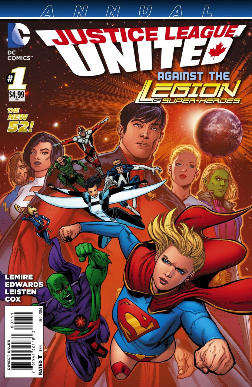 Justice League United Annual #1 [2014] VF/NM DC Comics *The New 52*