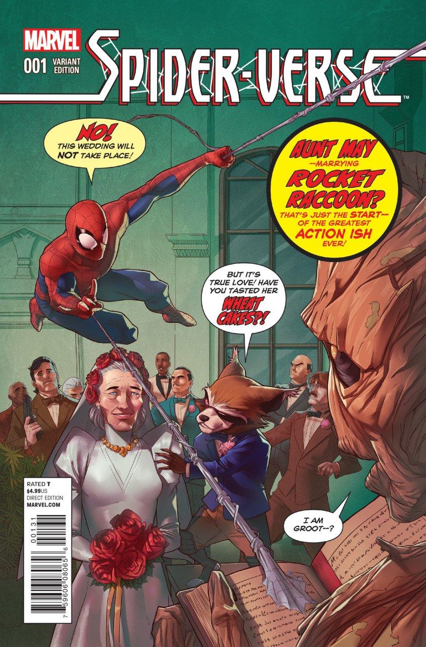 Spider-Verse #1 Rocket Raccoon & Groot Variant [2014] VF/NM