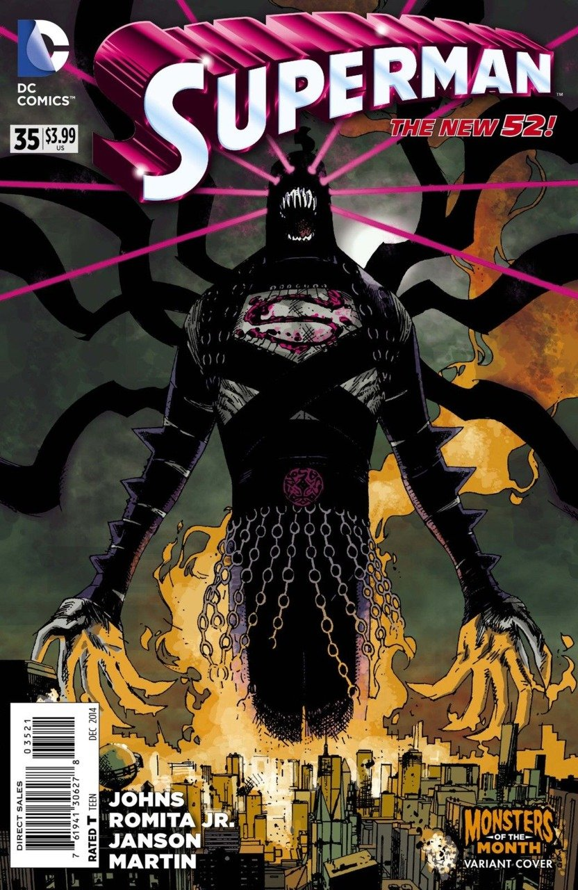 Superman (Vol 3) #35 Monsters of the Month Variant [2014] VF/NM *The New 52!*