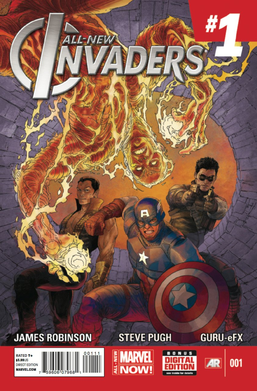 All New Invaders #1 [2014] VF/NM Marvel Comics