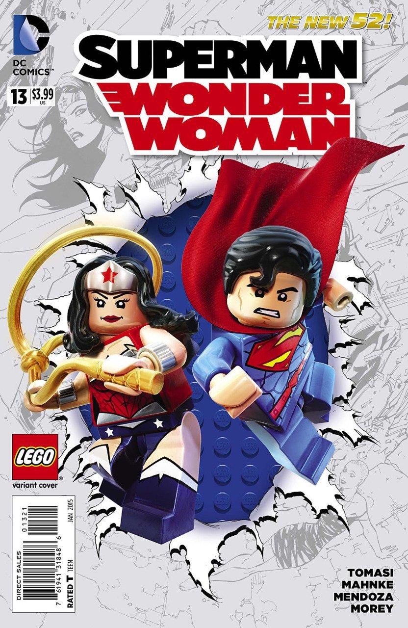 Superman Wonder Woman #13 Lego Variant [2014] VF/NM DC Comics *The New 52*