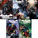 Batman: The Dark Knight #1 2 3 4 5 [2011] VF/NM DC Comics