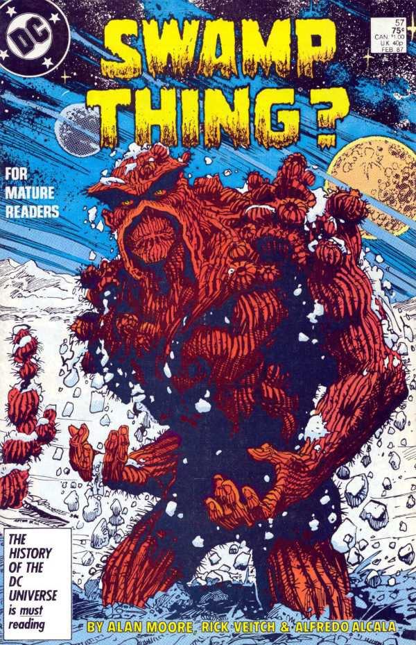 Swamp Thing #57 [1987] VF/NM DC Comics