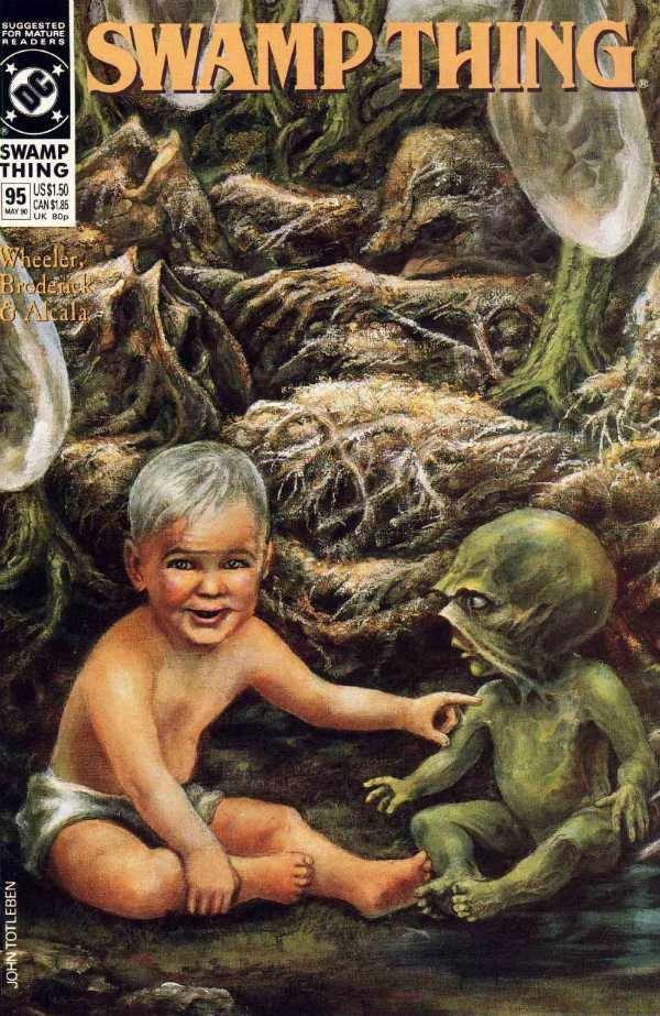Swamp Thing #95 [1990] VF/NM DC Comics