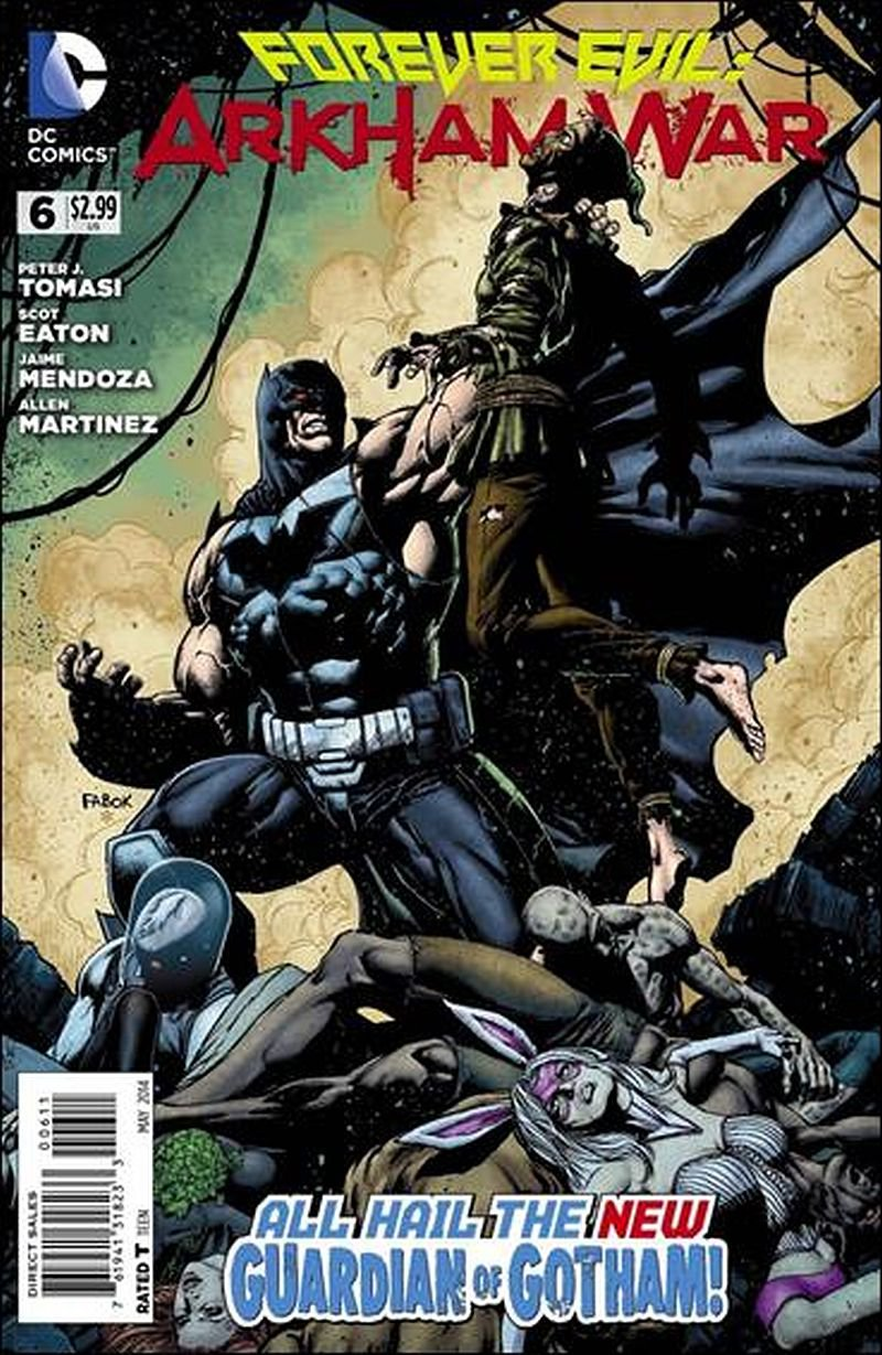 Forever Evil: Arkham War #6 [2014] VF/NM DC Comics