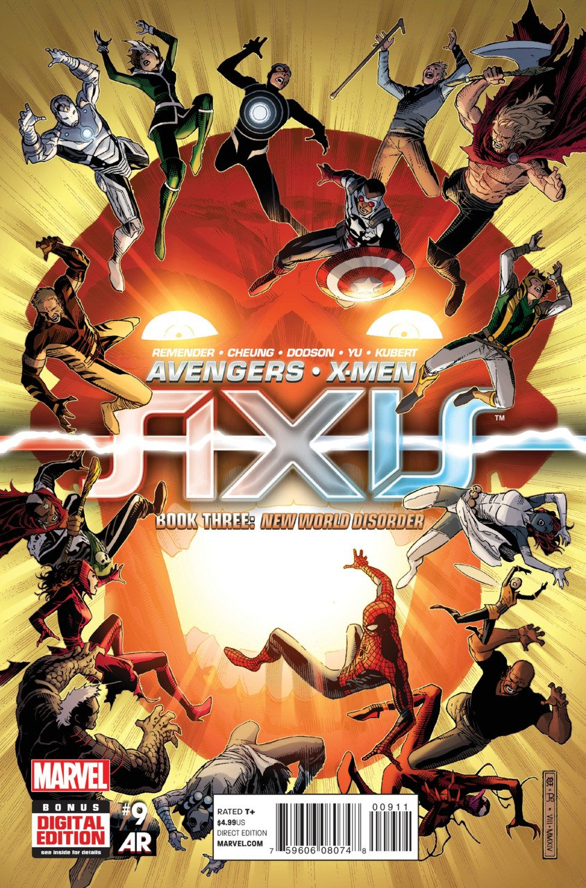 Avengers & X-Men: Axis #9 [2014] VF/NM Marvel Comics