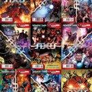 Avengers & X-Men: Axis #1 2 3 4 5 6 7 8 9 [2014] VF/NM Marvel Comics Trade Set