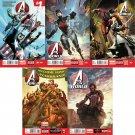 Avengers World #1 2 3 4 5 6 7 8 9 10 [2014] VF/NM *Marvel Now*