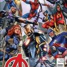 Avengers #1 Greg Horn Hastings Variant [2013] VF/NM Marvel Comics