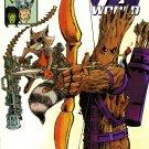 Avengers World #15 Rocket Raccoon & Groot Variant [2014] VF/NM *Marvel Now*