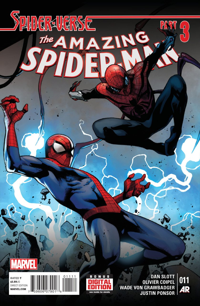 Amazing Spider-Man #11 [2014] VF/NM Marvel Comics *Spider-Verse Part 3*
